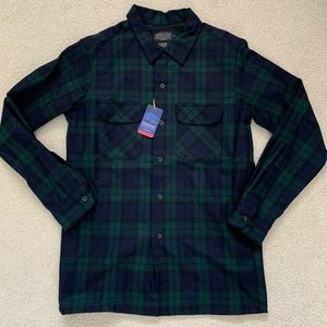 Pendleton Men's Plaid Board Button Up Shirt Size M